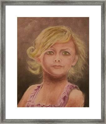Penelope Framed Print by Stephen King