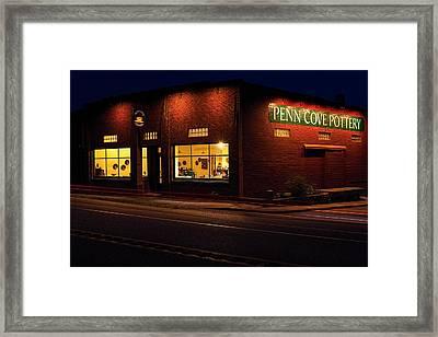 Penn Cove Pottery Framed Print by Thomas Hall Photography