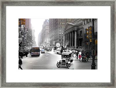 Penn Square Framed Print by Eric Nagy