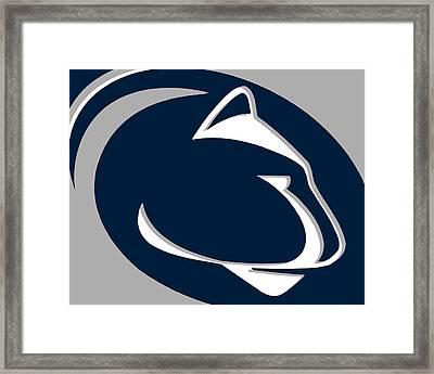 Penn State Nittany Lions Framed Print by Tony Rubino