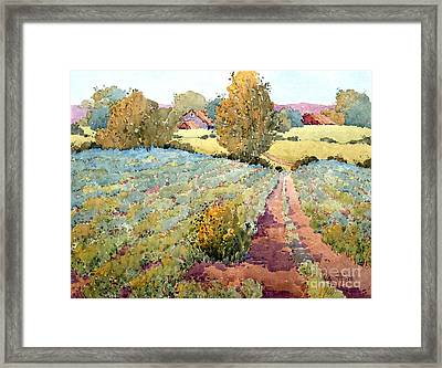 Pennsylvania Idyll Framed Print by Joyce Hicks