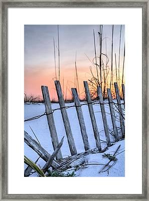 Pensacola Beach Sands Framed Print by JC Findley