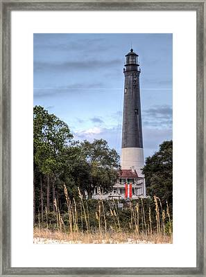Pensacola Lighthouse V Framed Print by JC Findley