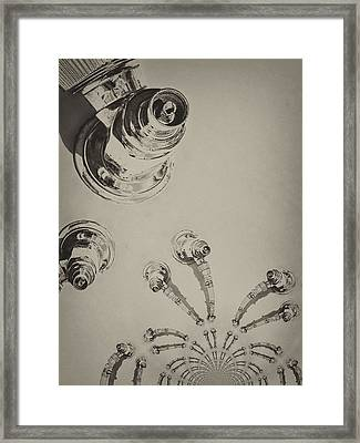 Pensive Connections Framed Print by Wendy J St Christopher