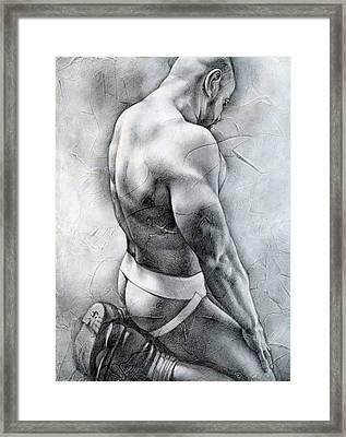 Penumbra Framed Print by Chris  Lopez