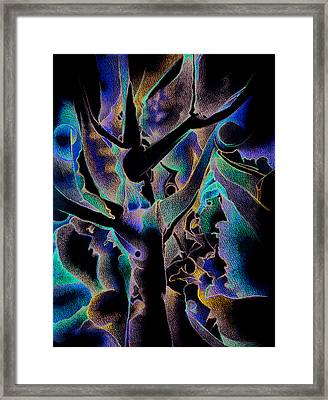 People From Suburbia Framed Print by Bodhi