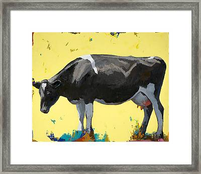 People Like Cows #12 Framed Print by David Palmer