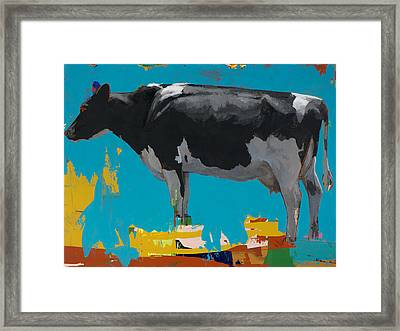 People Like Cows #15 Framed Print by David Palmer