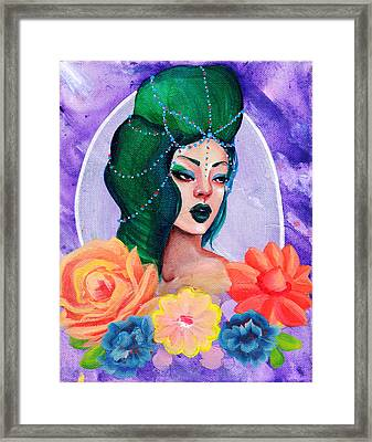 People Of The Capitol - #2 Framed Print by Trish Cataldo