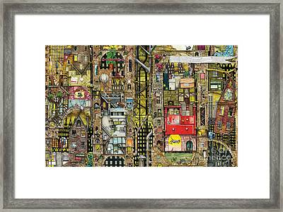 Pepper Dreams Framed Print by Colin Thompson