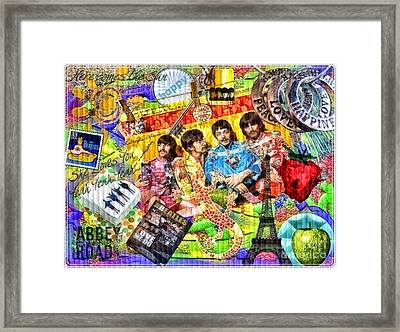 Pepperland Framed Print by Mo T