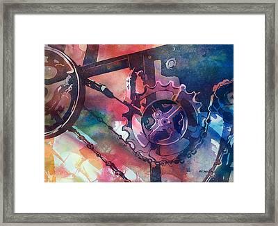 Perceptual Motion Framed Print by Kris Parins