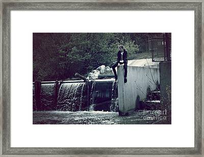 Perch Framed Print by Kyle Walker