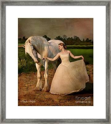 Perfect Dancers Framed Print by Dorota Kudyba