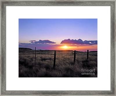 Perfect Ending Framed Print by Ellen Cotton