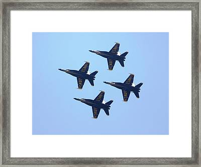 Perfect Formation I Framed Print by French Toast