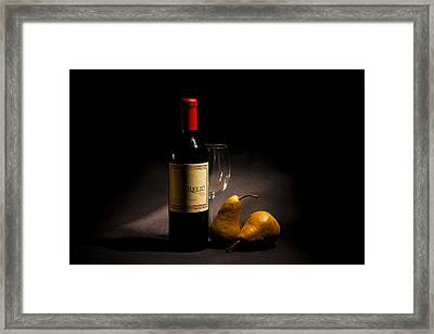 Perfect Pairing Framed Print by Peter Tellone
