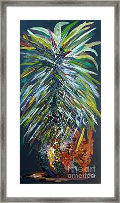 Perfect Pineapple Framed Print by Eloise Schneider