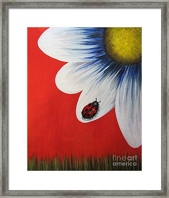 Perfect Summer By Shawna Erback  Framed Print by Shawna Erback