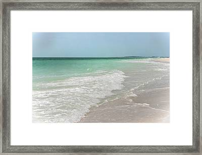 Perfection - Clearwater Beach Florida Framed Print by Georgia Fowler