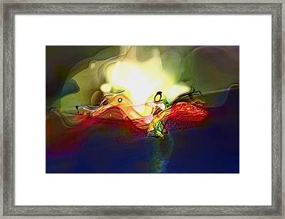 Performance Framed Print by Richard Thomas
