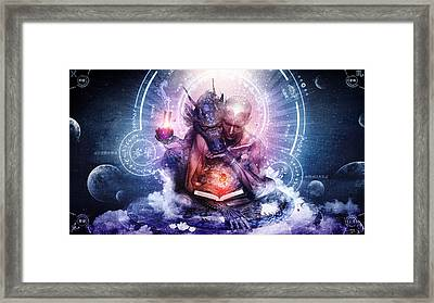 Perhaps The Dreams Are Of Soulmates Framed Print by Cameron Gray