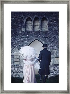 Period Couple Framed Print by Joana Kruse