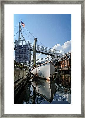 Perkins Cove Reflection Framed Print by Scott Thorp