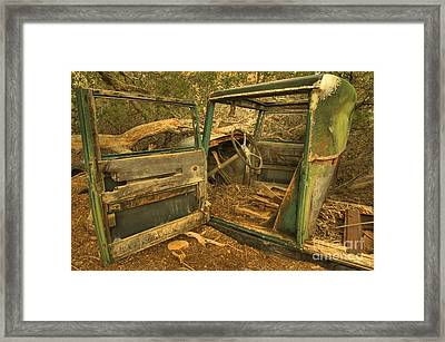 Permanent Parking Framed Print by Adam Jewell