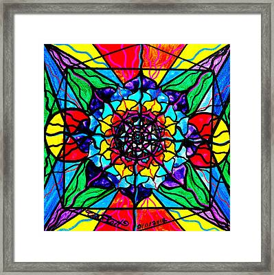 Personal Expansion Framed Print by Teal Eye  Print Store