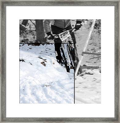 Perspective In Riding  Framed Print by Steven  Digman