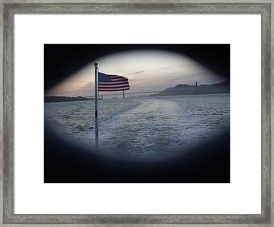 Perspective Liberty Framed Print by Misty Herrick