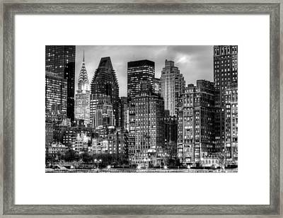 Perspectives Bw Framed Print by JC Findley