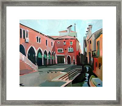 Pescheria Framed Print by Filip Mihail
