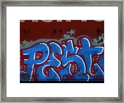 Pest Framed Print by Donna Blackhall