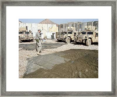 Pesticide Treatment Framed Print by Seth Britch/us Department Of Agriculture