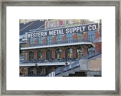 Petco Framed Print by Chris Selby