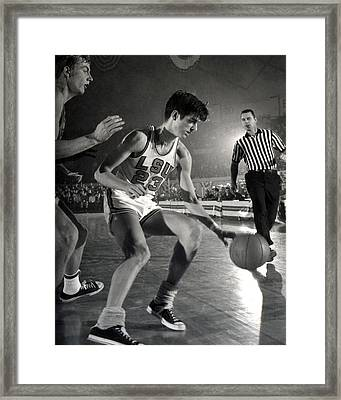 Pete Maravich Dribbling Framed Print by Retro Images Archive