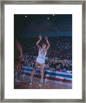 Pete Maravich Follow Through Framed Print by Retro Images Archive