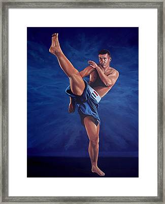 Peter Aerts  Framed Print by Paul Meijering