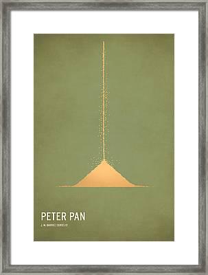 Peter Pan Framed Print by Christian Jackson