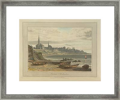 Peterhead In Aberdeenshire Framed Print by British Library