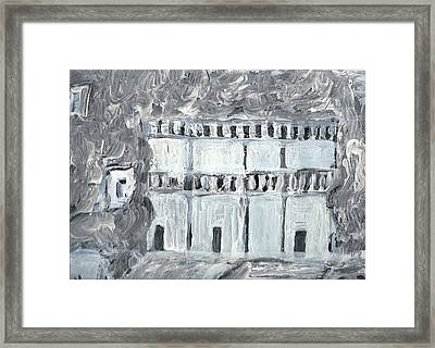 Petra Framed Print by Didier MAJOIE