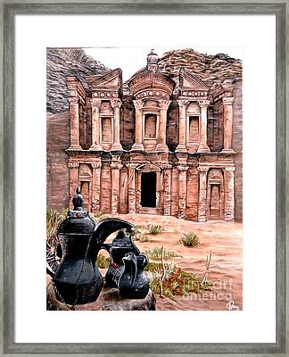 Petra  Framed Print by Mylene Le Bouthillier