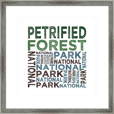 Petrified Forest National Park Framed Print by Flo Karp