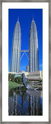 Petronas Towers Kuala Lumpur Malaysia Framed Print by Panoramic Images