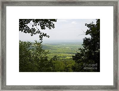 Petun Trail Collingwood Framed Print by Elaine Mikkelstrup
