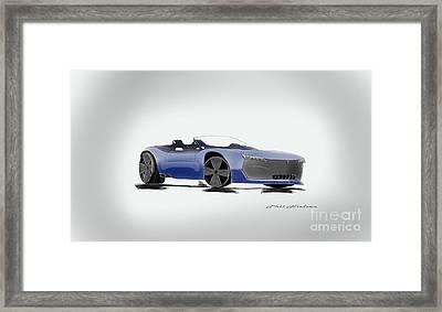 Phantal Roadster Framed Print by Phil Nielsen