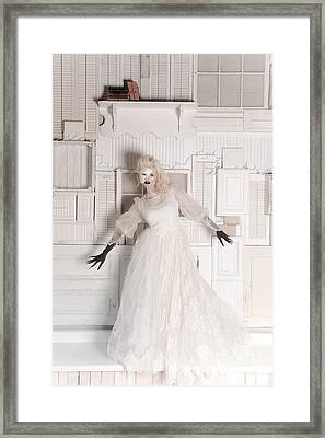 Phantom Bride Framed Print by Jt PhotoDesign