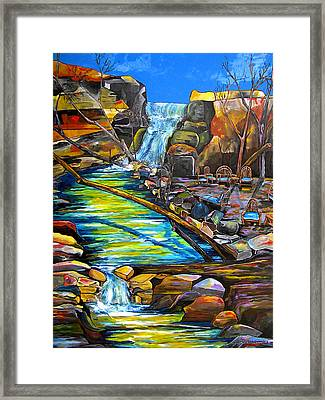 Phantom Falls Ranch Framed Print by Patti Schermerhorn